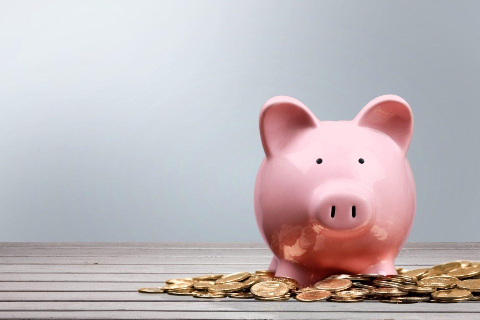 Piggy Bank, Currency, Savings.