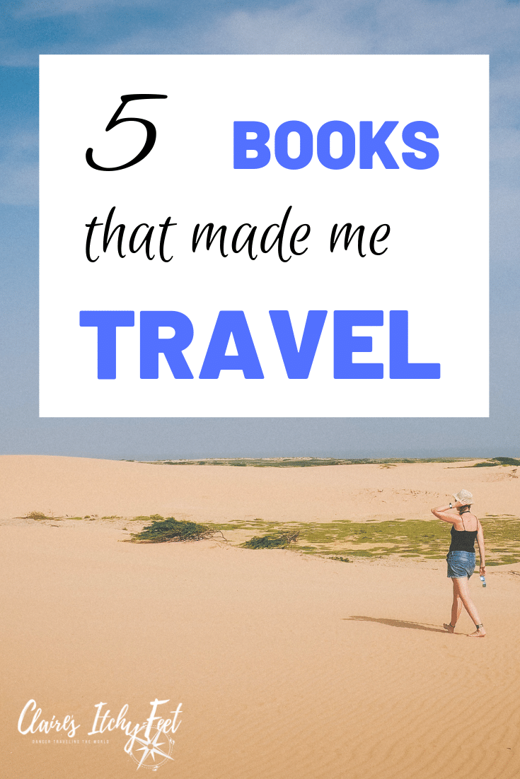 Looking for some books to read that will inspire your wanderlust? These travel books made me want to pack my backpack and book a one way ticket... and I did. #wanderlust #travelbooks #booksfortravel #vacationbooks #vacationreads