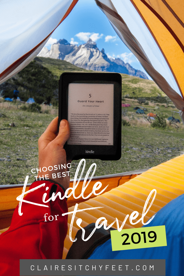 Choosing the Best Kindle for Travel 2019