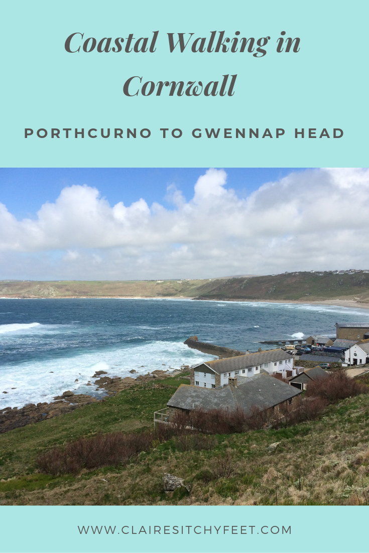 Coastal Walking in Cornwall | Porthcurno to Gwennap Head