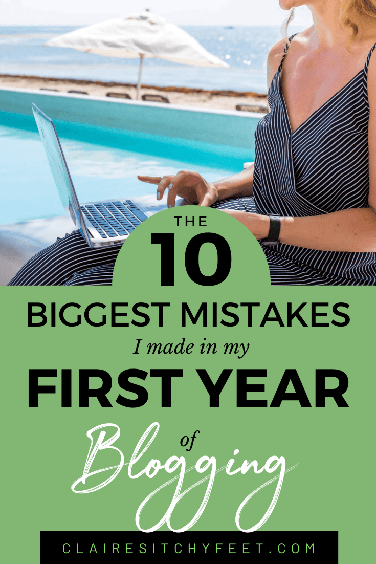 The 10 biggest mistakes I made in my first year of blogging