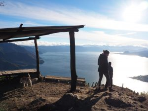 Hike to Indian Nose Lake Atitlan Guatemala