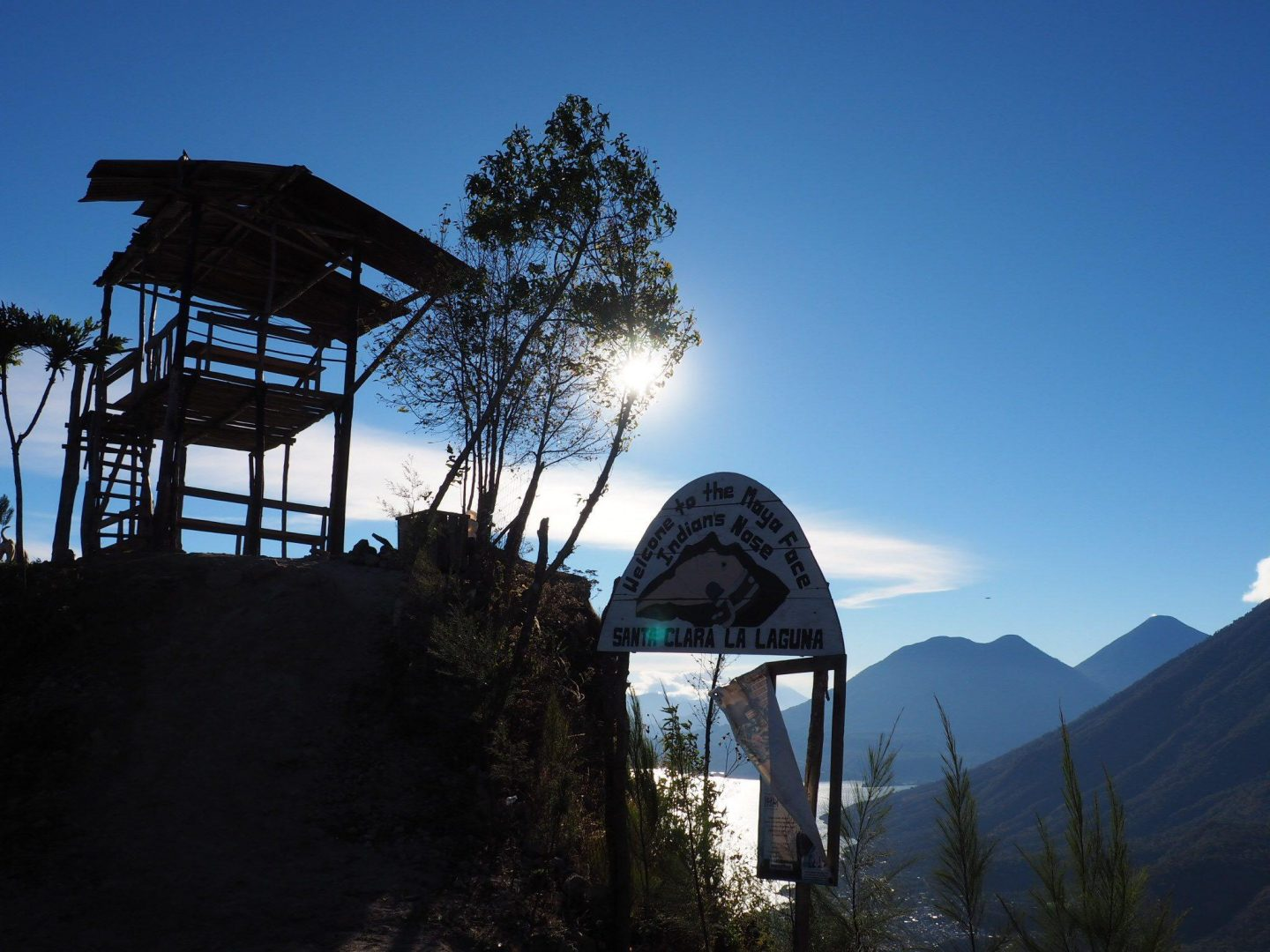 Indian Nose Hike in Guatemala