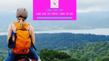 Cabin Zero the perfect carryon bag?