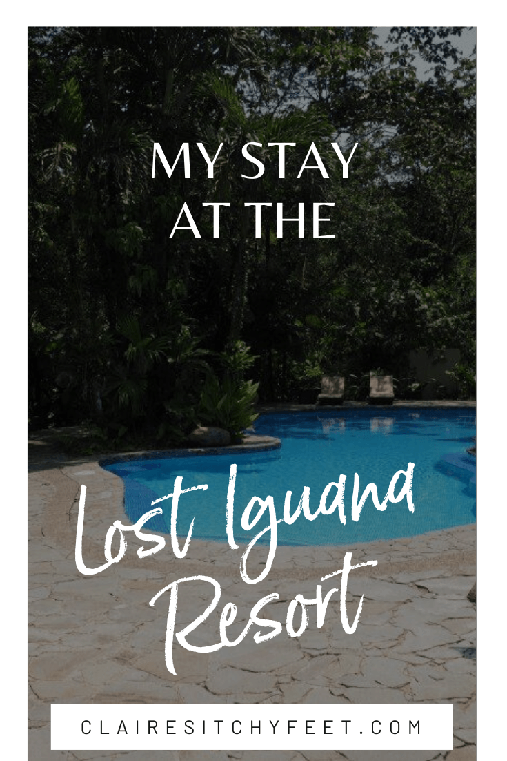 My stay at the Lost Iguana Resort
