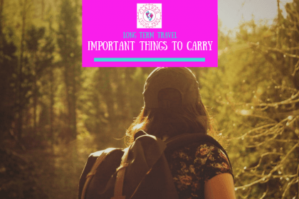 Planning on traveling long-term? There are some essential things you need to think about before any long term travel and some really important things you need to carry. In this post Guest Contributor, Harris Norman offers his expert advice.