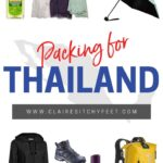 What to pack for Thailand