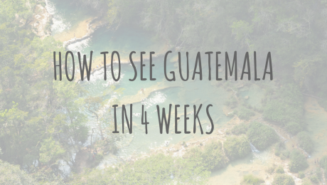 Guatemala Guides | How to see Guatemala in 4 weeks
