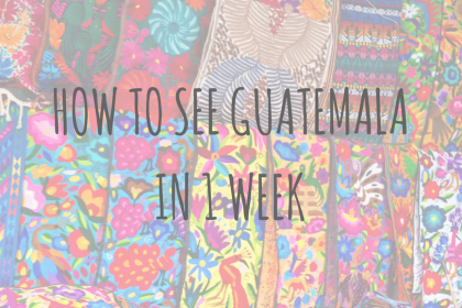 Guatemala Guides_ How to see Guatemala in 1 week