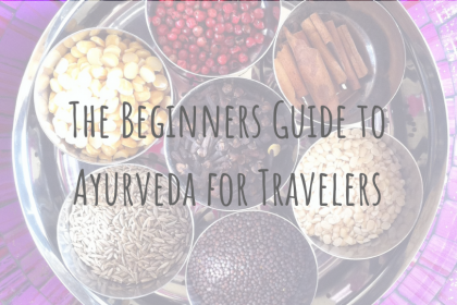 Health & Wellbeing _ The Beginners Guide to Ayurveda for Traveler