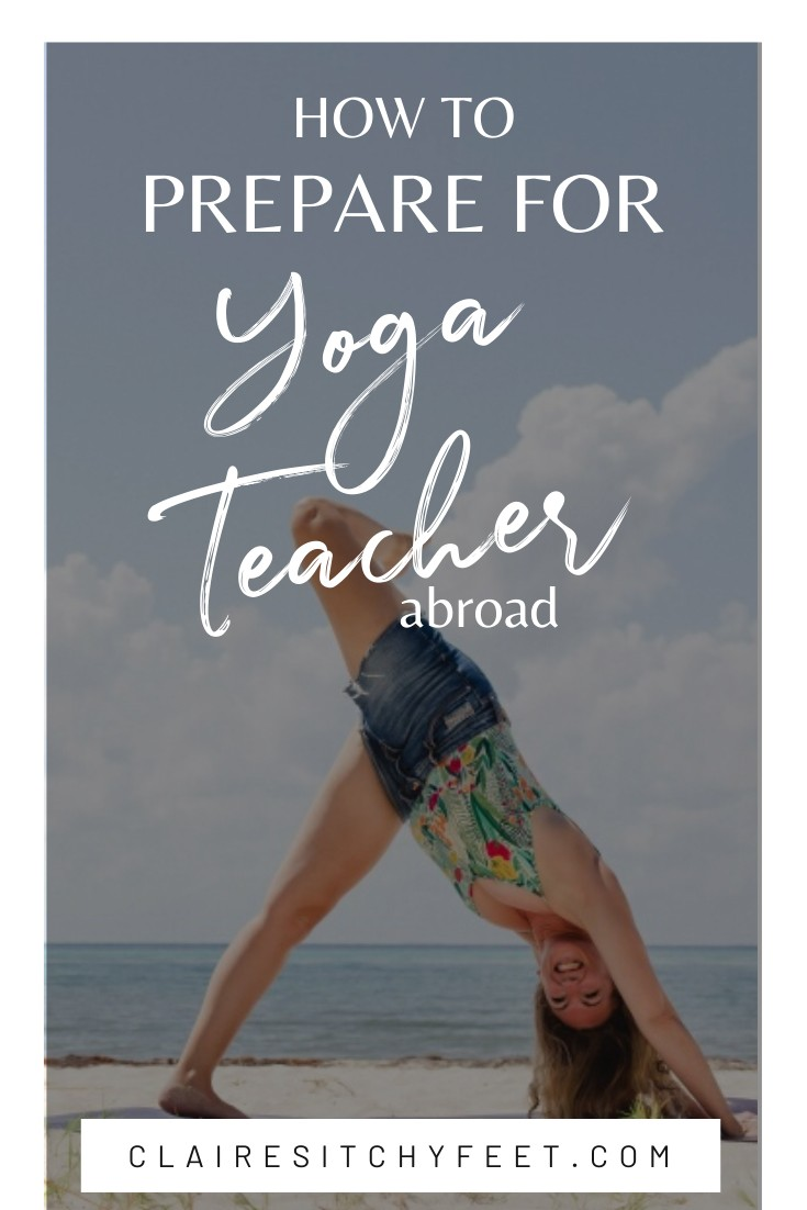 How to prepare for Yoga Teacher Training Abroad
