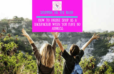 Shopping on the road - How to online shop as a backpacker when you have no address