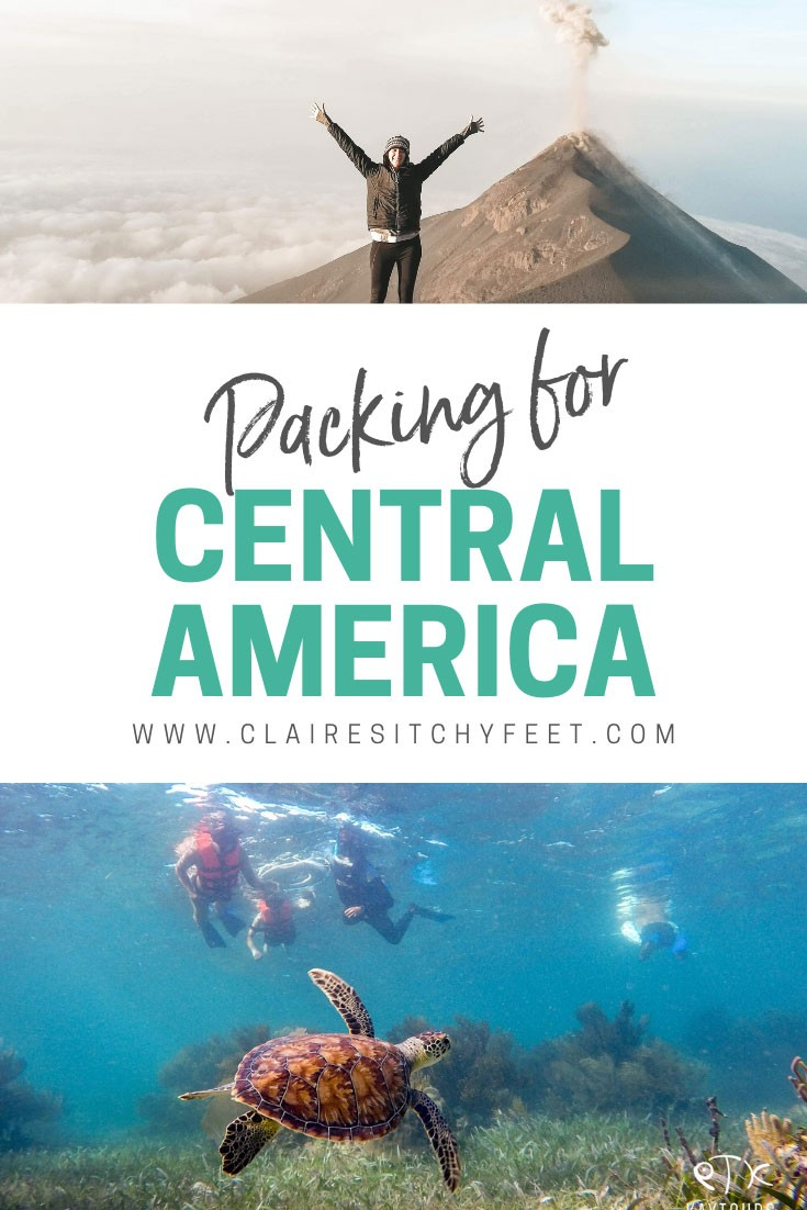 what to pack for Central America