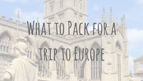 What's in my Bag | Packing advice for Europe
