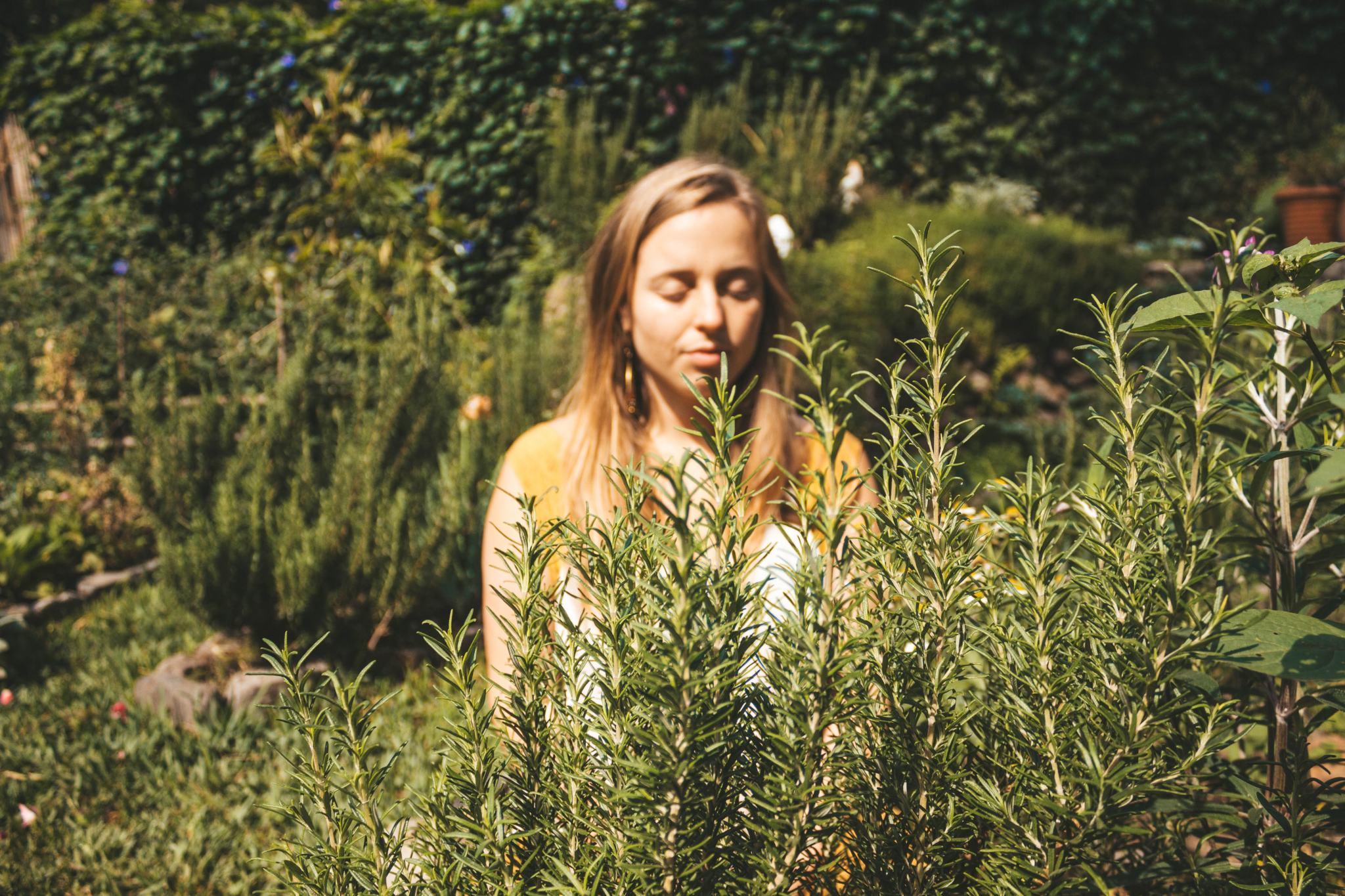 my friend Julia at Casa Curativa
