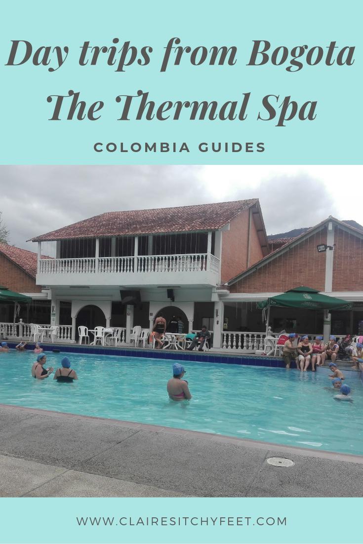 Bogota day trips | The Termales de Choachi (thermal spa near Bogota)