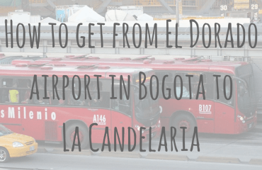 How to get from El Dorado airport in Bogota to La Candelaria