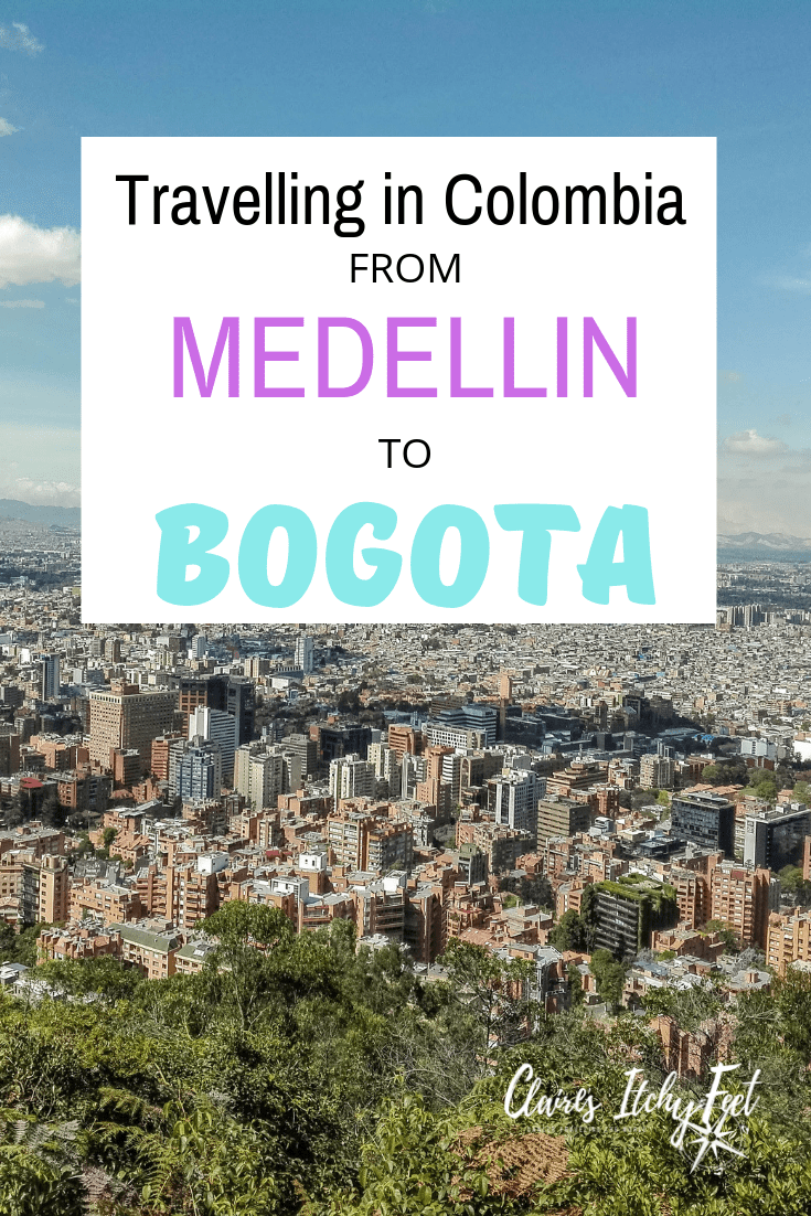 How to get from Bogotá to Medellín on the bus or plane