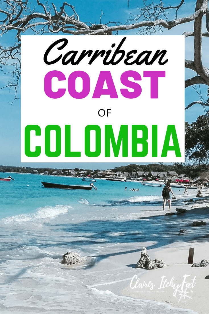 1 week itinerary for Colombian Caribbean Coast