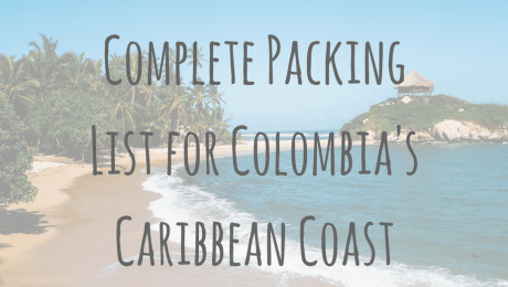 Complete Packing List for The Caribbean Coast