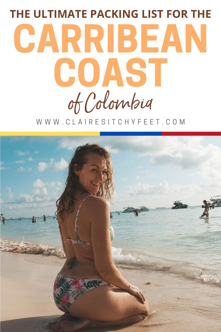 packing list for the Caribbean Coast of Colombia