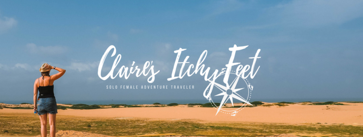 Claire's Itchy Feet | Solo Female Adventure Travel Blogger