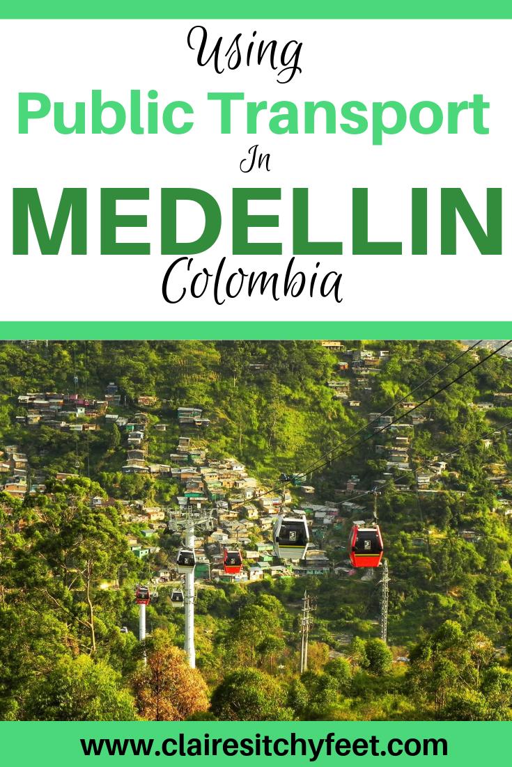Using Public Transport in Medellin