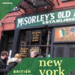 10 British inspired places to visit in New York City