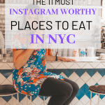 The 11 Best Instagram worthy places to eat in NYC. This is the The only guide you will need to find the 11 most instagramable places to eat in New York City. #instagram #instagramworthy #NYCinstagram #NYCtravel #NYCfoodie #NYCdesserts #NewYorkCity #NYCfood #eatNYC