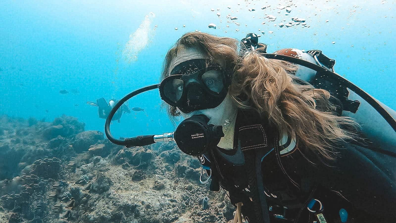Claire Scuba Diving