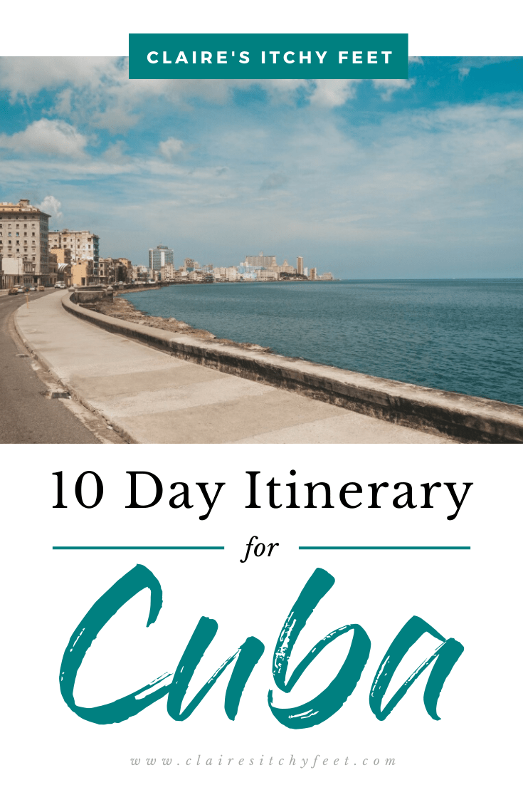 10 Day Itinerary for Cuba