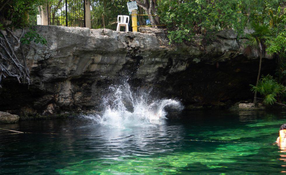 Adventures in Mexico _ Visiting Cenote Azul and Cenote Cristalino.