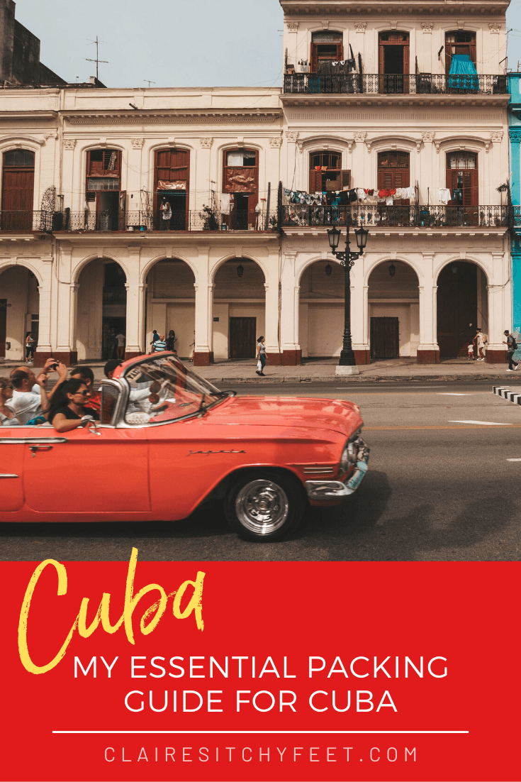 My Essential Packing Guide for Cuba