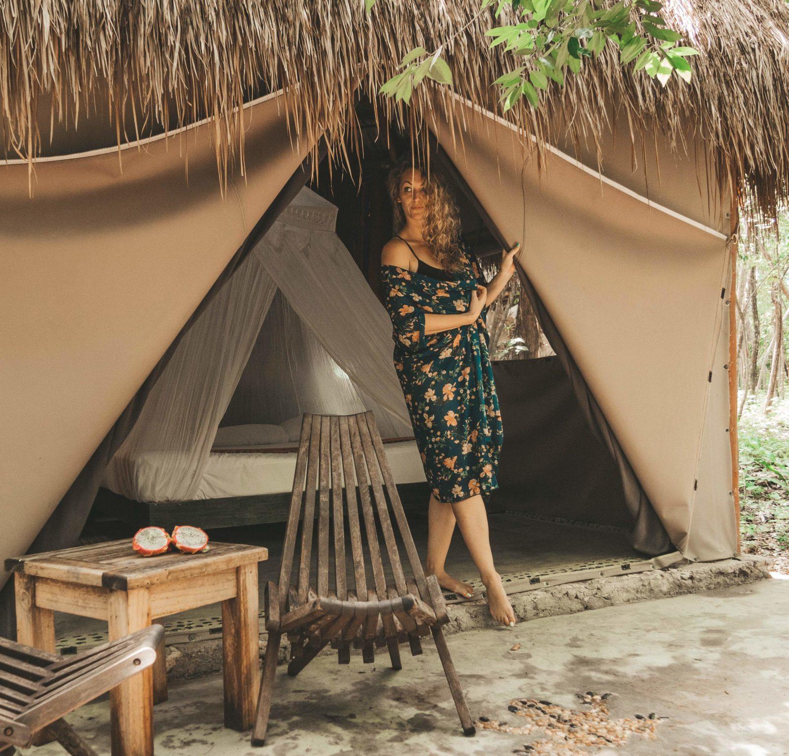 Adventures in Mexico | Akumal Glamping | Glamping in the Riviera Maya