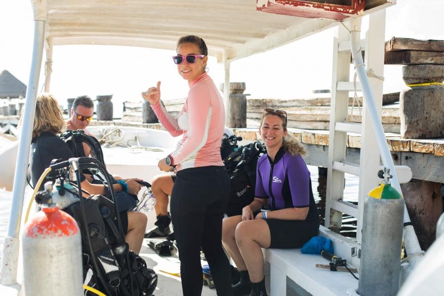 Adventures in Mexico   Scuba Diving in Puerto Morelos