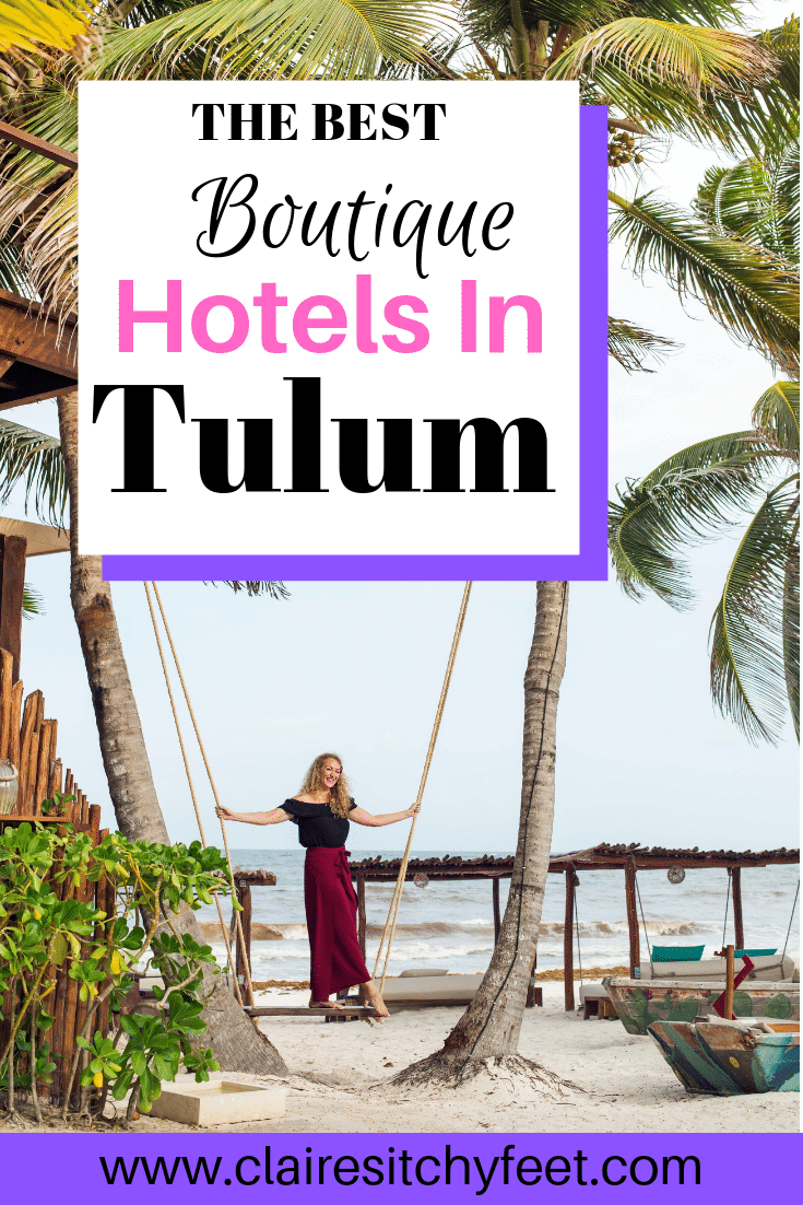 Are you planning a vacation in Tulum? Not sure where to stay in Tulum Mexico? In this guide I review and make recommendation of the best boutique hotels to stay in Tulum. Hotels on the beach in Tulum | Luxury Hotels in Tulum #travelguide #traveltips #WhereToStay #HotelReview