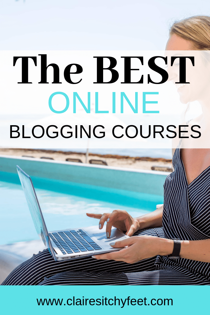 Struggling to get traffic to your blog? Want to become a travel blogger but don't know how to grow your audience? Go to my post to see how I grew my blog and became a digital nomad. I share 6 courses that will change the game for you. #socialmedia #tips #ideas #pintrest #website #onlinebusiness #bloggingadvice #bloggingcourses