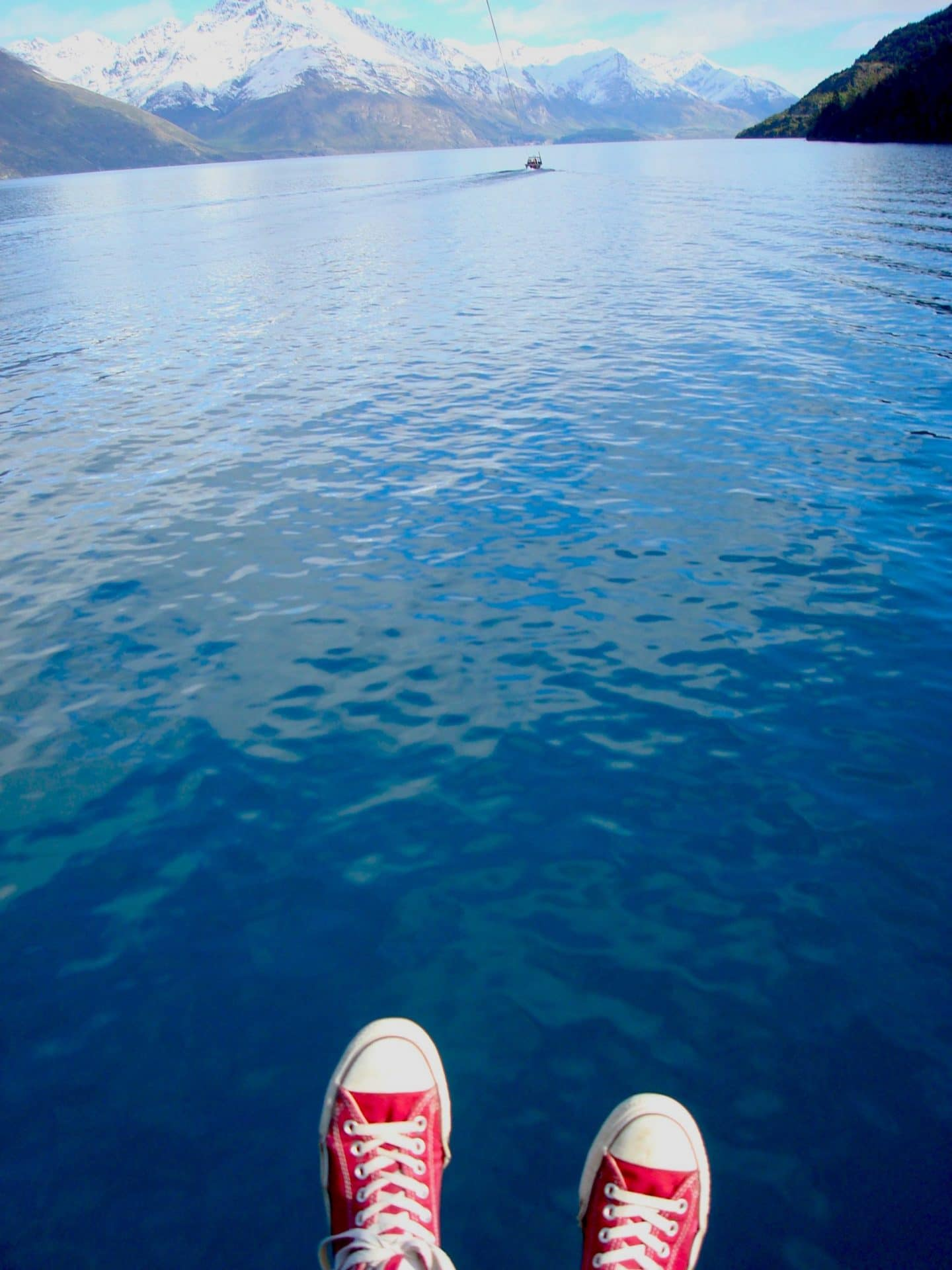 Parasailing in Queensland The Solo Girls Guide to Queenstown | What to do in Queenstown