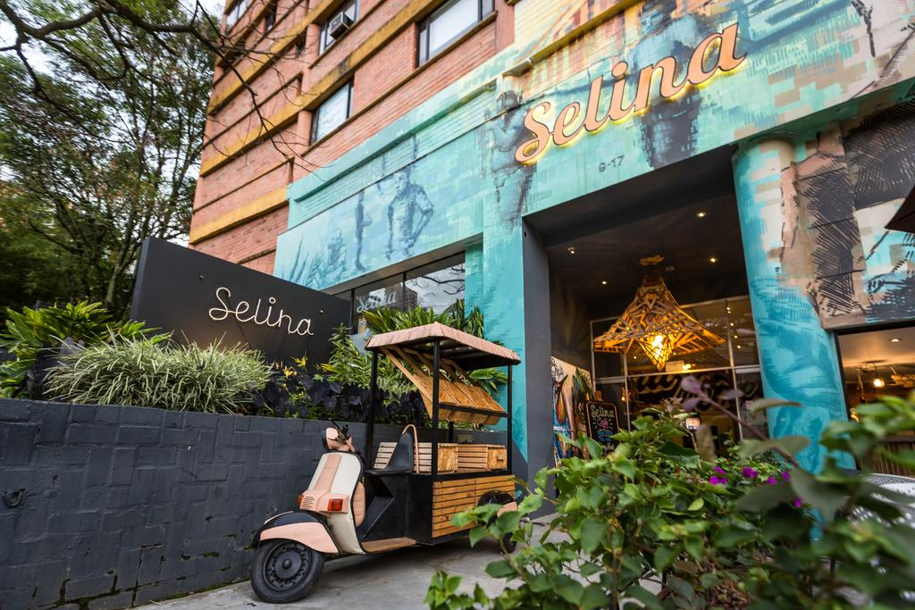 Image of Selina hotel in Medellin Colombia