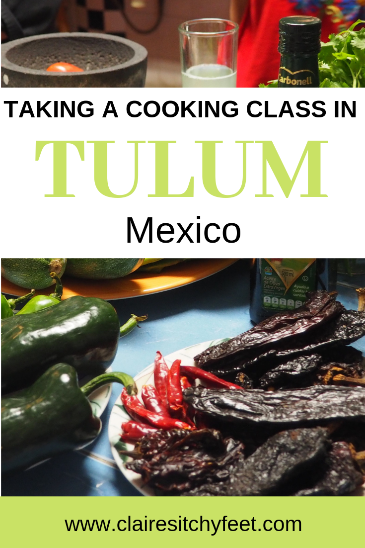 Doing a cooking class in Tulum