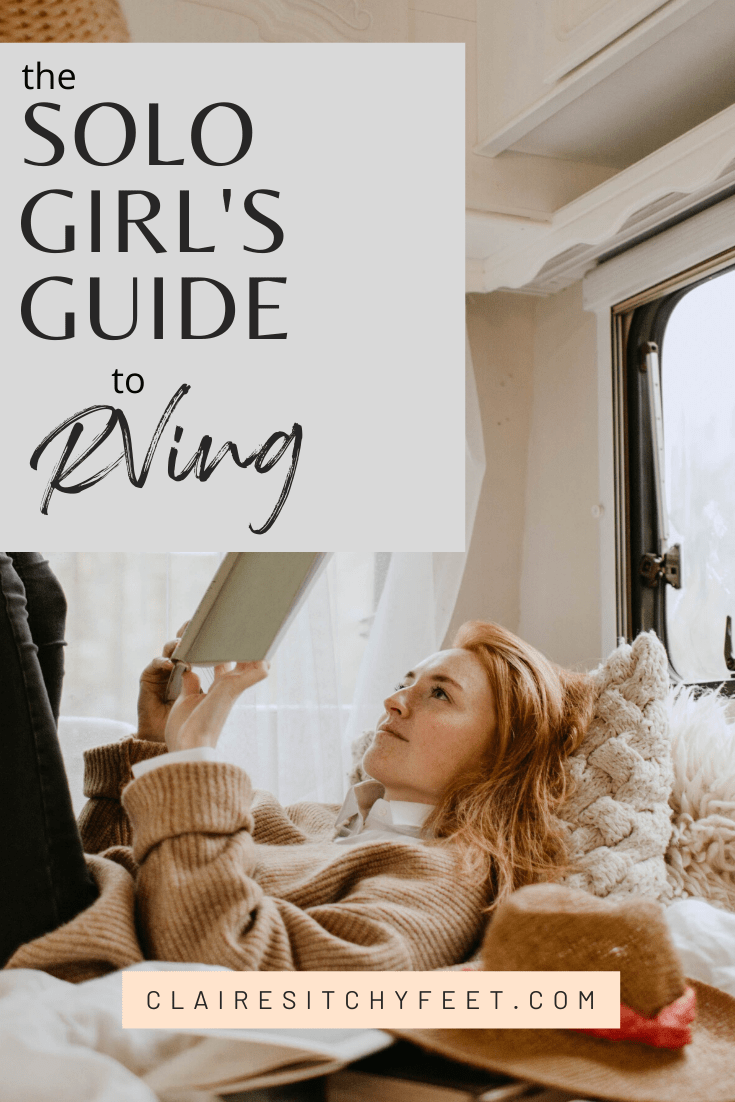 Are you thinking of RVing As A Solo Female traveling? In this Solo Girls' guide, we cover everything you need to know to get you started Rving solo.
