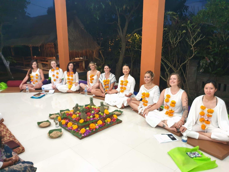 Aayaa yoga teaching course Bali