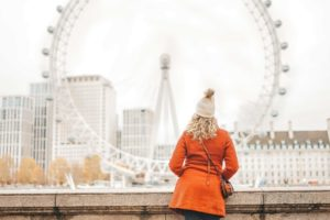 The Solo Girl's Guide to London the London eye