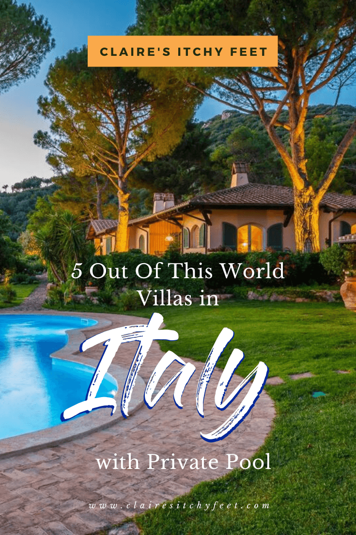 5 Out Of This World Villas In Italy With Private Pool