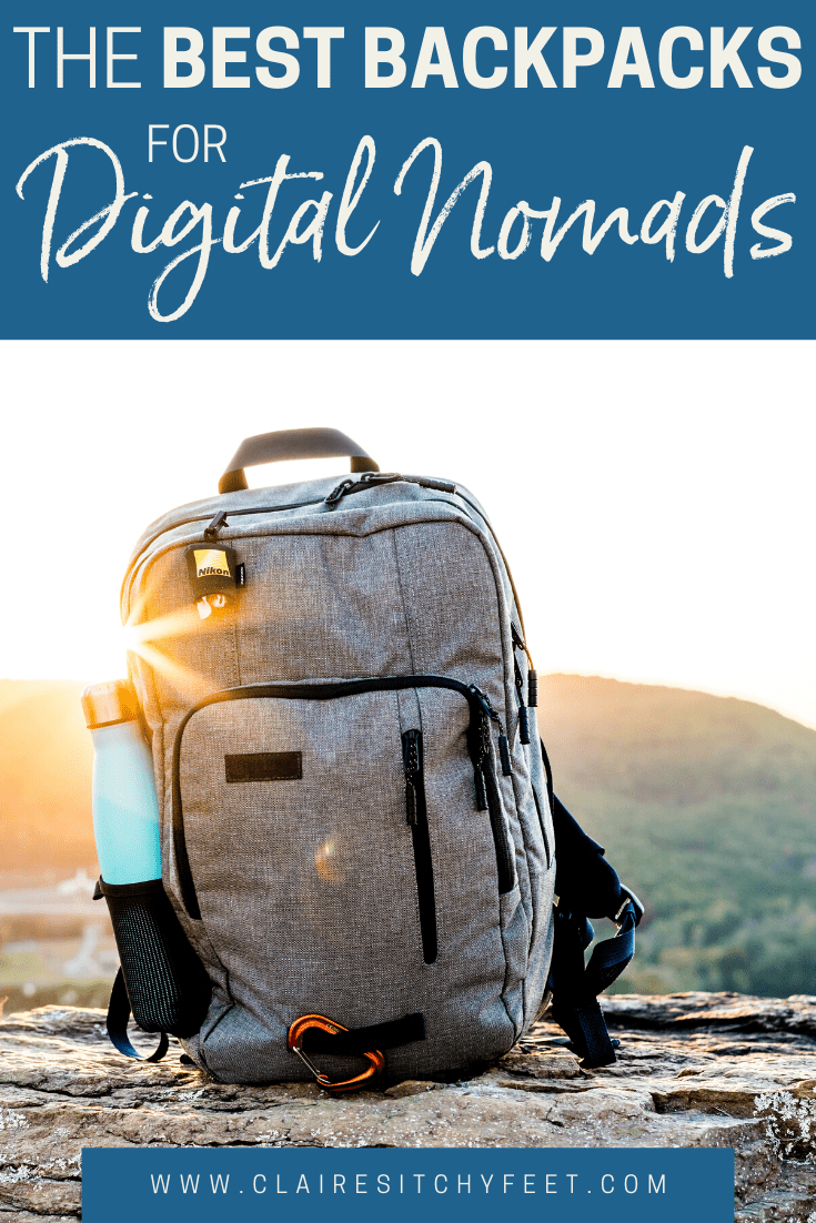 the best backpack for digital nomads