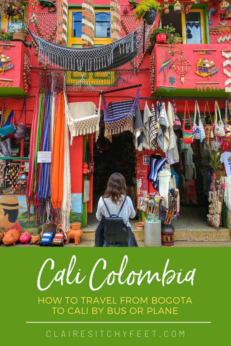 How To Travel From Bogota To Cali by Bus Or Plane