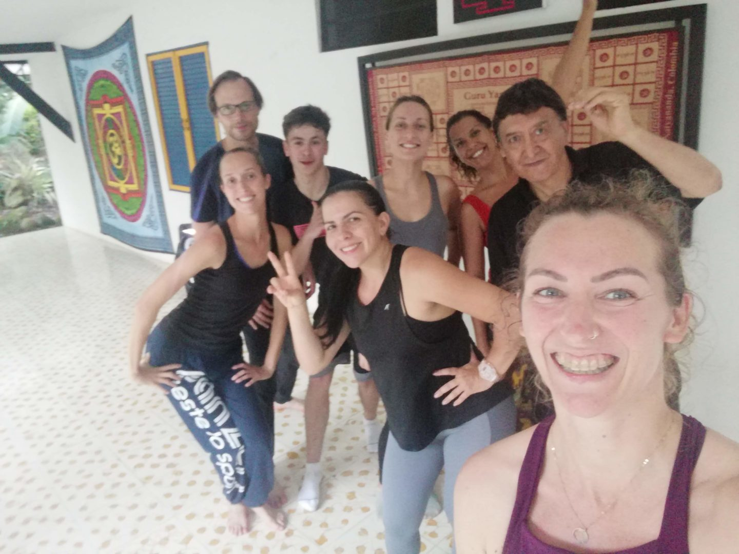 Learning Spanish and salsa in Cail Colombia