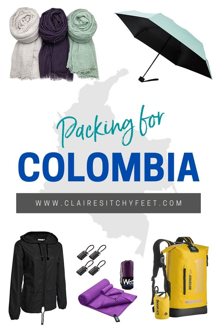 Packing for colombia