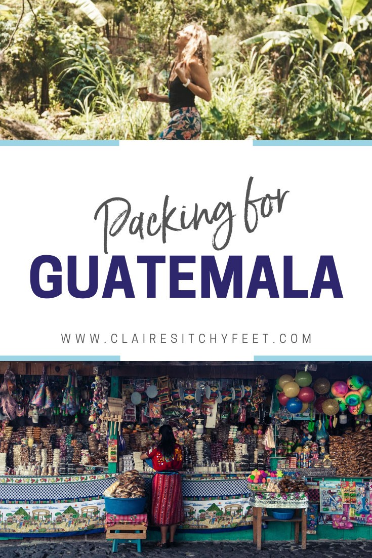 Packing for Guatemala