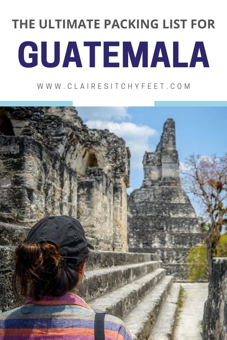 packing list Guatemala